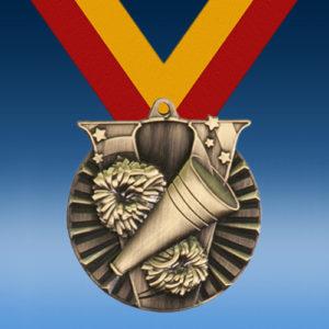 Cheerleading Victory Series Medal-0