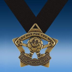 Soccer Fun XS Series Medal-0