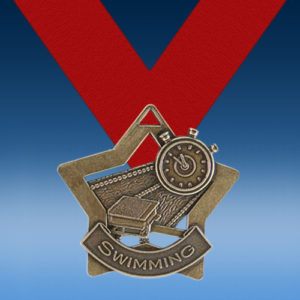 Swimming XS Series Medal-0