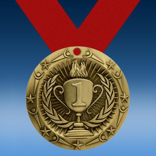 1st Place World Class Medallion-0