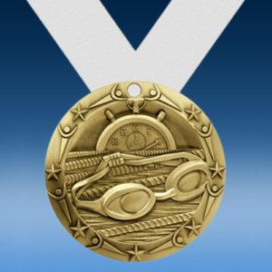 Swimming World Class Medallion-0