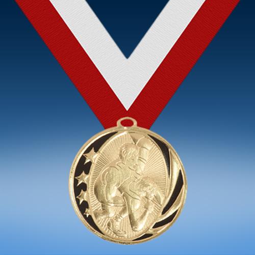 Wrestling Midnight Series Medal-0