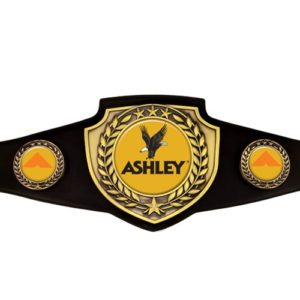 Antique Gold Championship Belt