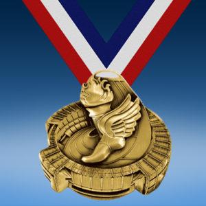 Track Stadium Medal