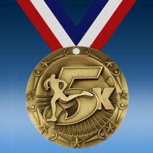 5k World Class Medallion