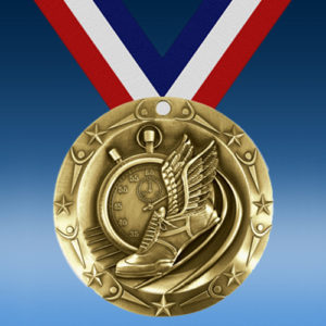 Track World Class Medallion