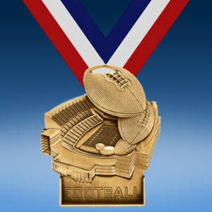 Football Stadium Award Medal