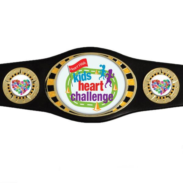 Custom Black Mini Champ Belt-0