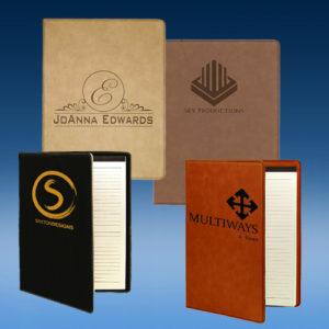 Leatherette Portfolio w/ Notepad