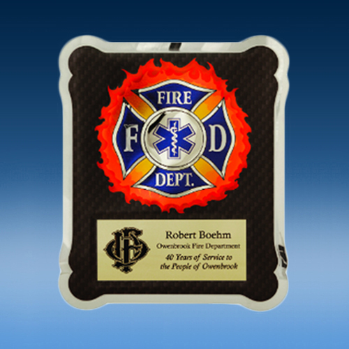 Firefighter/Medical EMT Hero Plaque