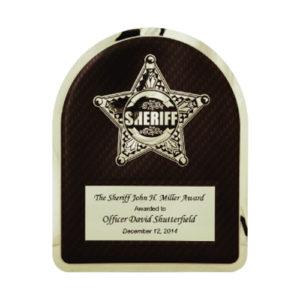 Sheriff Hero Plaque
