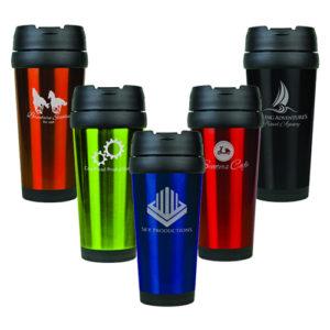 Laser Travel Mugs