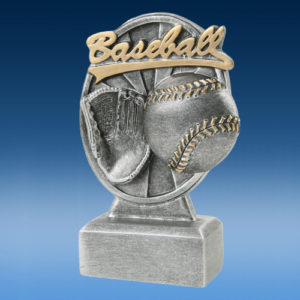 Baseball Pinwheel Script Resins