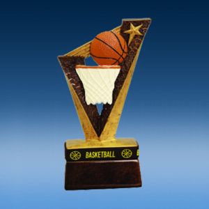 Basketball TrophyBand Resin