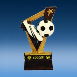 Soccer TrophyBand Resin